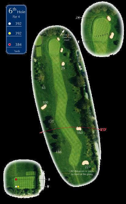 Course Tour Hole 6